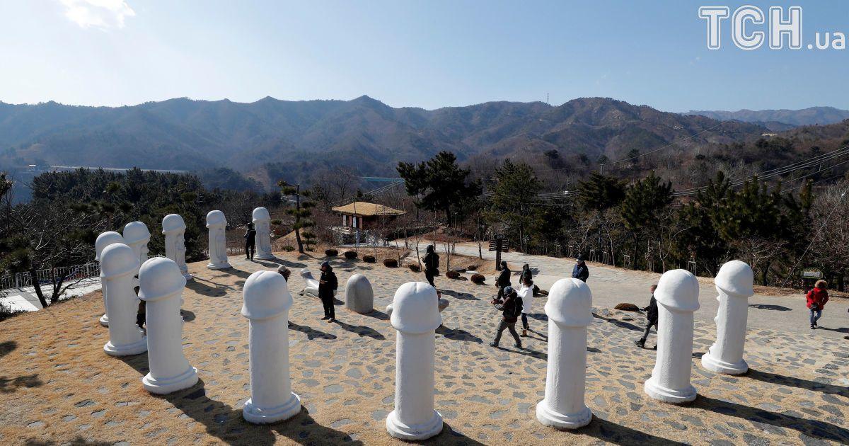 Удивительный Парк пенисов ошеломил гостей Олимпиады-2018 в Южной Корее