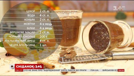 Шоколадный мусс - рецепты Сеничкина
