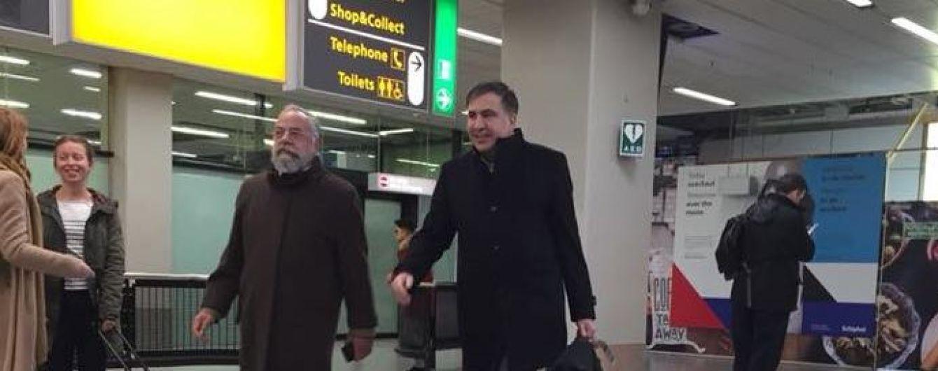 Саакашвілі заскочили в аеропорту Амстердама – нардеп