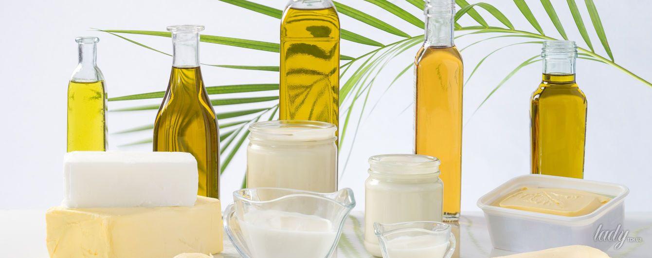 Вредные и полезные жиры в продуктах