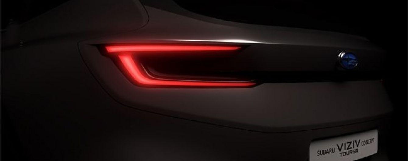 Компания Subaru показала тизер ожидаемого концепт-кара