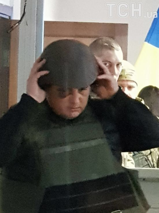 Екс-нардепа Шепелєва у касці та бронежилеті привезли до суду