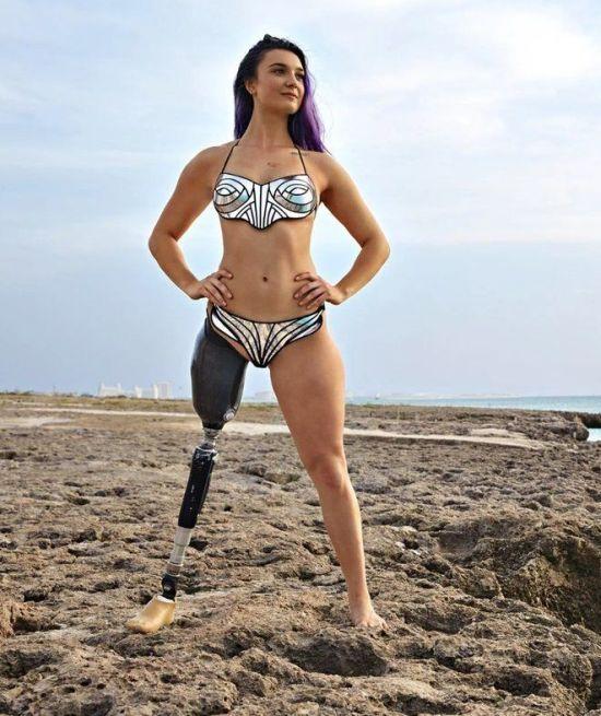 """""""Хочу зняти клеймо"""" - американська паралімпійка роздяглась для мотивуючої фотосесії"""