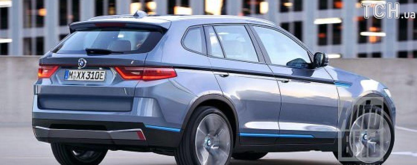 BMW X3 станет первым электрическим кроссовером бренда