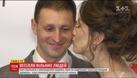 Звільнений з полону Ігор Сапожніков одружився на дівчині, яка чекала його понад два роки