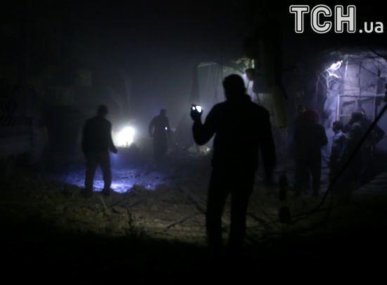 У Сирії 15 російських найманців підірвалися на складі боєприпасів