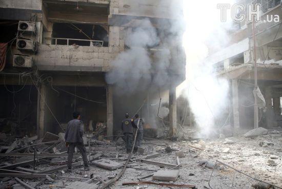 У Сирії різко зросла кількість  жертв авіаударів біля Дамаска
