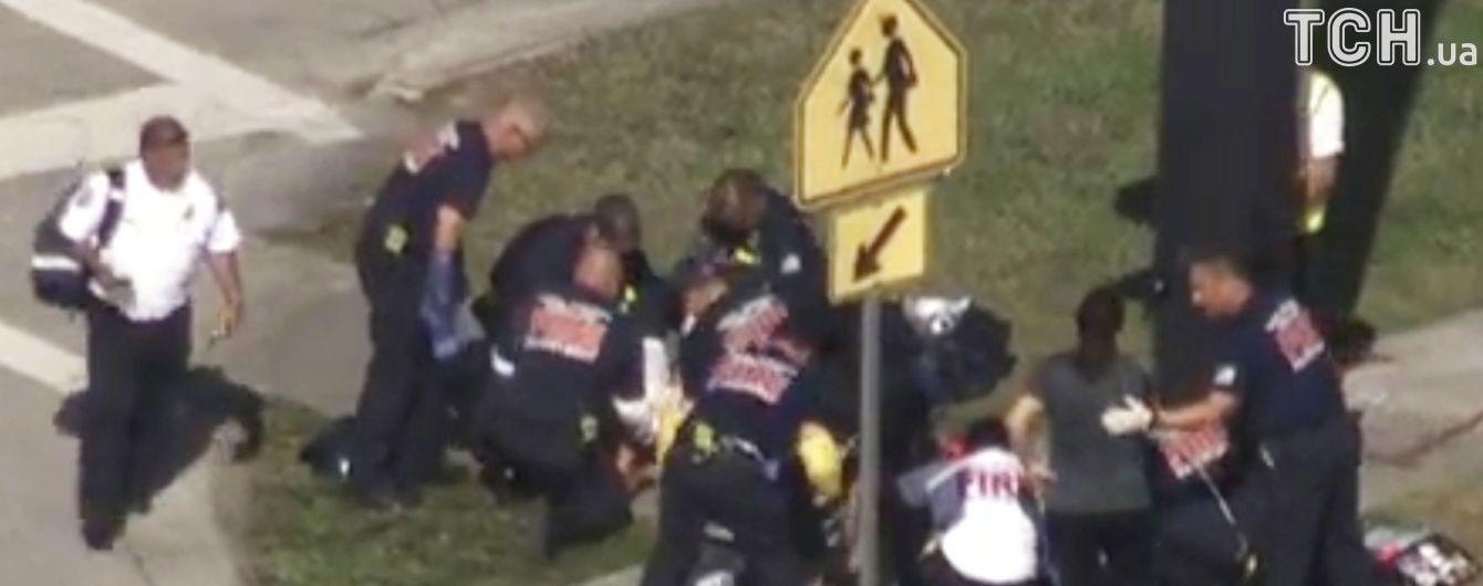 ЗМІ у Флориді повідомили про сімох жертв стрілянини в місцевій школі
