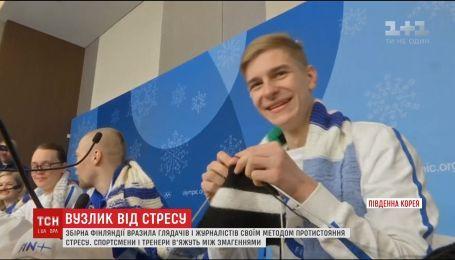 Сборная Финляндии на Олимпийских играх поразила всех методами преодоления стресса