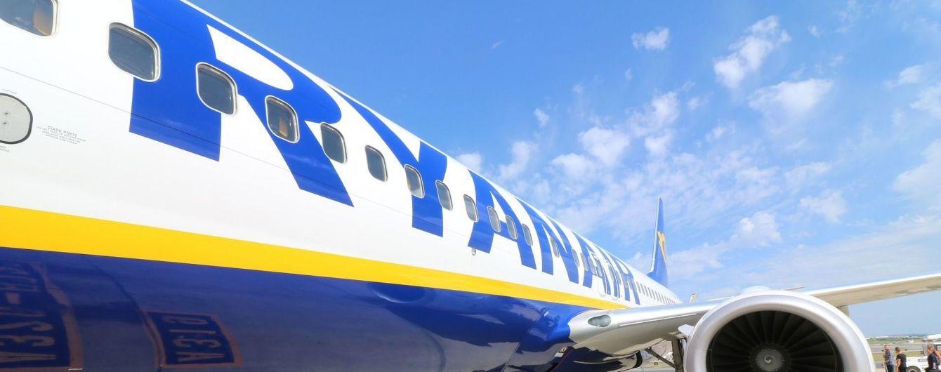 """Лоукост Ryanair объявил об открытии рейсов из """"Борисполя"""". Карта маршрутов"""