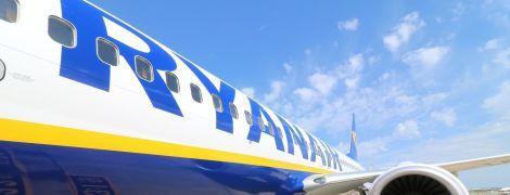 """Лоукост Ryanair оголосив про відкриття рейсів із """"Борисполя"""". Мапа маршрутів"""