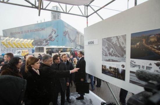 На Майдані презентували проекти Меморіалу Героїв Небесної сотні