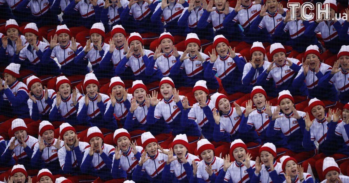 Чирлідерки Північної Кореї @ Reuters