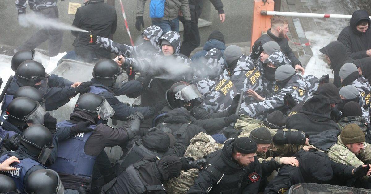 Фото с места происшествия @ УНИАН