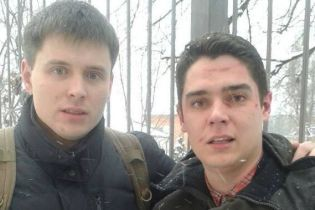 """Активісти поскаржилися, що їх побили і спустили з 4-го поверху за вигуки """"сепаратист"""" Труханову"""