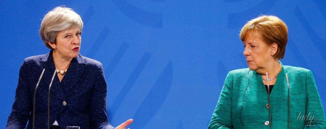 Битва жакетов: Тереза Мэй vs Ангела Меркель