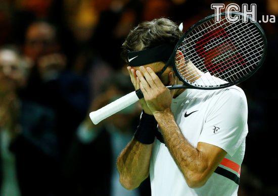 Повернення легенди. Федерер через шість років знову очолив світовий рейтинг