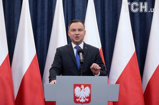 Дуда висловив розчарування переговорами віце-прем'єрів Польщі й України