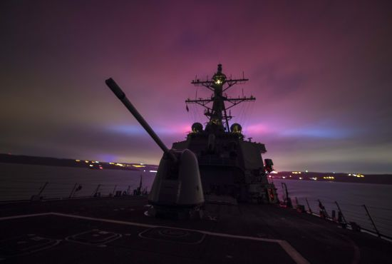 У води Чорного моря увійшов другий ракетний есмінець США