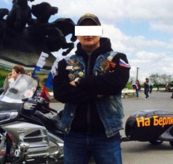 """""""У Борисполі"""" прикордонники розвернули додому байкера з клубу """"Нічні вовки"""""""