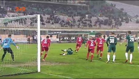 Ворскла - Верес - 1:0. Відео матчу
