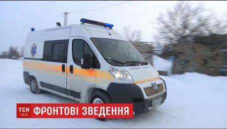 В зоне АТО госпитализировали одного украинского бойца