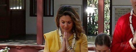 В желтом индийском наряде: яркий образ жены Джастина Трюдо