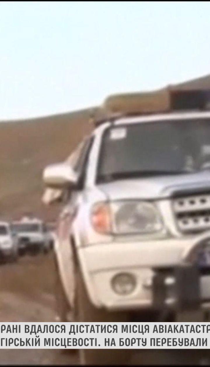 В Ірані знайшли уламки пасажирського літака, який розбився напередодні