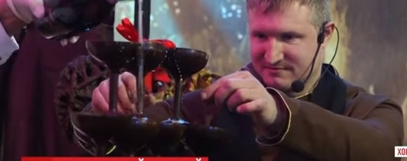 В Хорватии придумали шампанское подавать в бокалах из черного шоколада