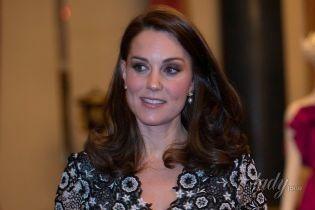 Хозяйка вечера: герцогиня Кембриджская пришла на торжественный прием в платье за 3 тысячи долларов