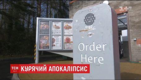 Мережа ресторанів швидкого харчування закриває свої заклади через брак курятини