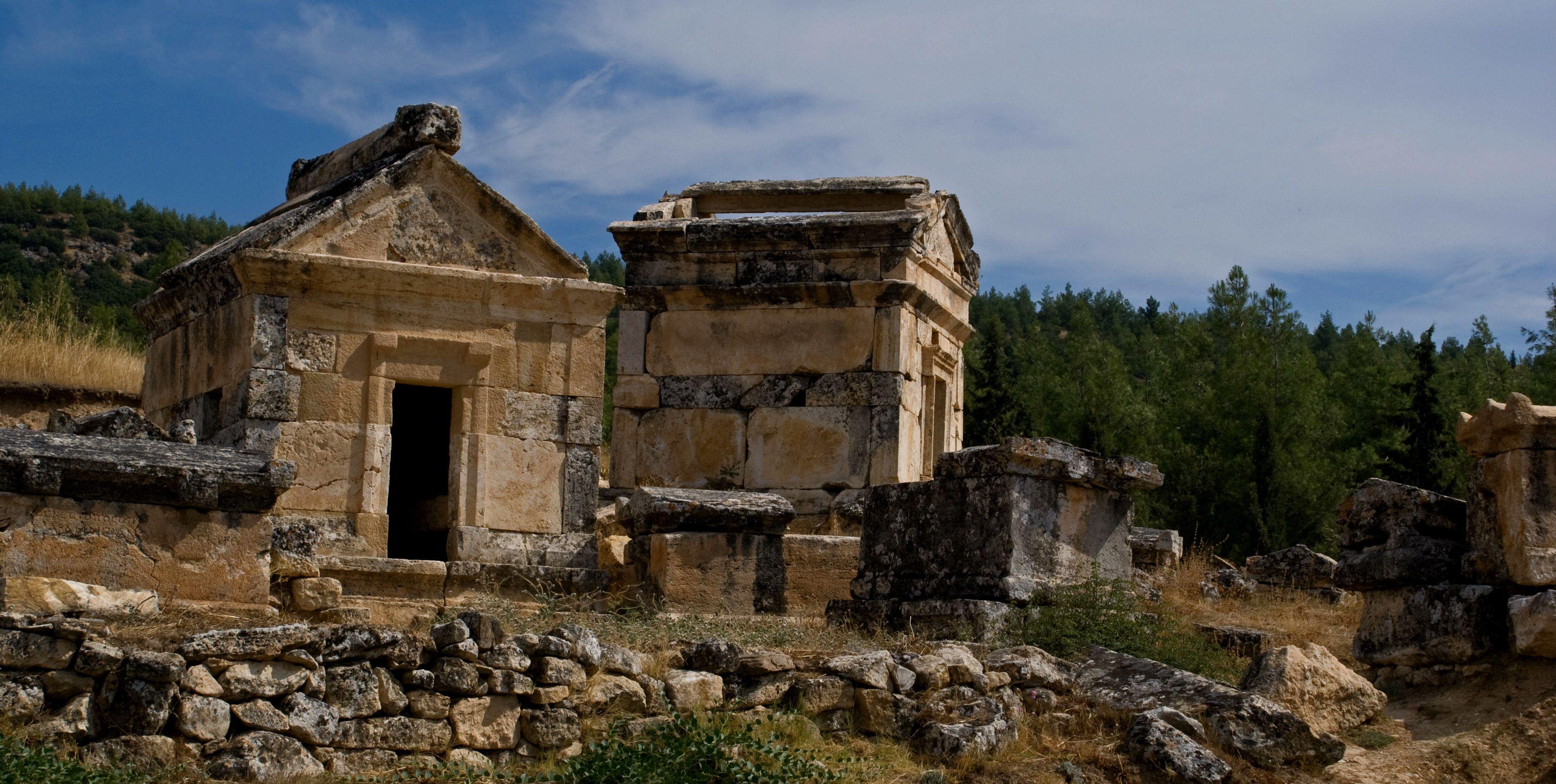 Туреччина, грецьке місто Ієраполіс, руїни_2
