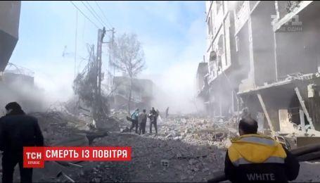 В Сирии возросло число жертв авиационного и артиллерийского удара правительственных сил