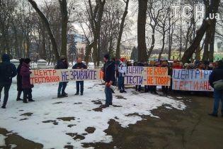 Гуртожиток університету Богомольця зачинять, щоб забезпечити масовку на протестах під МОЗ