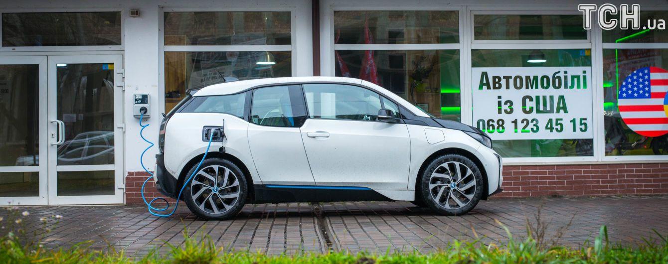 В Украину завезли втрое больше электромобилей