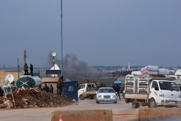 Сирийские проправительственные силы вошли в район Африн для противостояния турецким военным