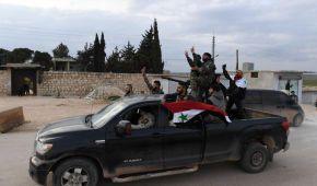 Сирійські проурядові сили увійшли в район Афрін для протистояння турецьким військовим