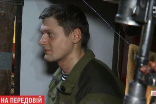 Участник самообороны Майдана стал морским пехотинцем и защищает передовые рубежи неподалеку Мариуполя