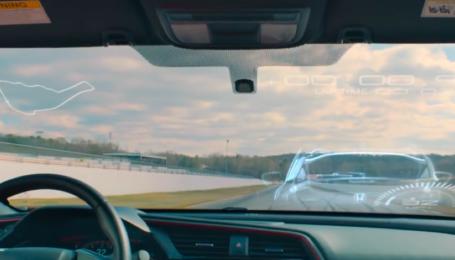 Компания Honda провела революционную гонку смешав реальности и VR