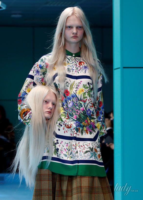 Показ коллекции бренда Gucci в Милане_4