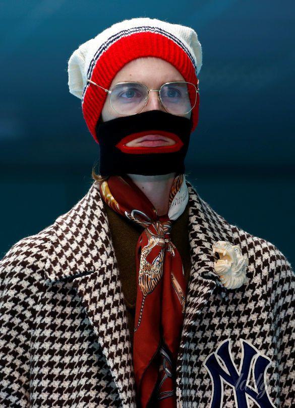Показ коллекции бренда Gucci в Милане_8
