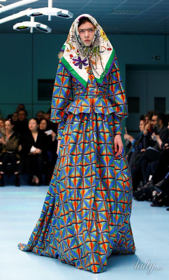 Показ коллекции бренда Gucci в Милане_9