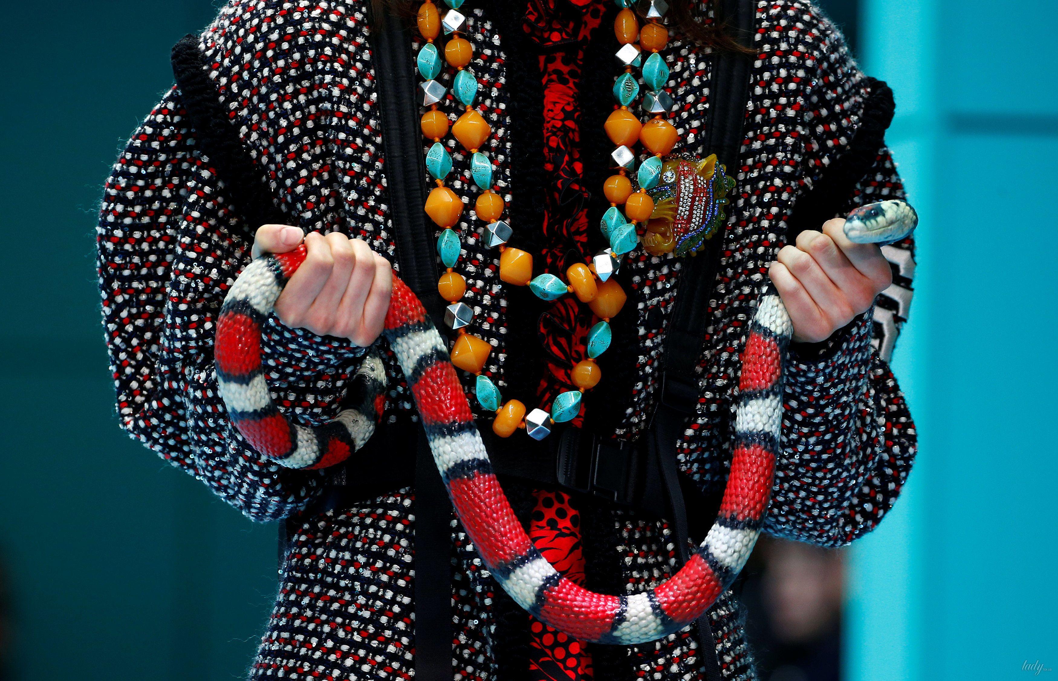 Показ коллекции бренда Gucci в Милане_11
