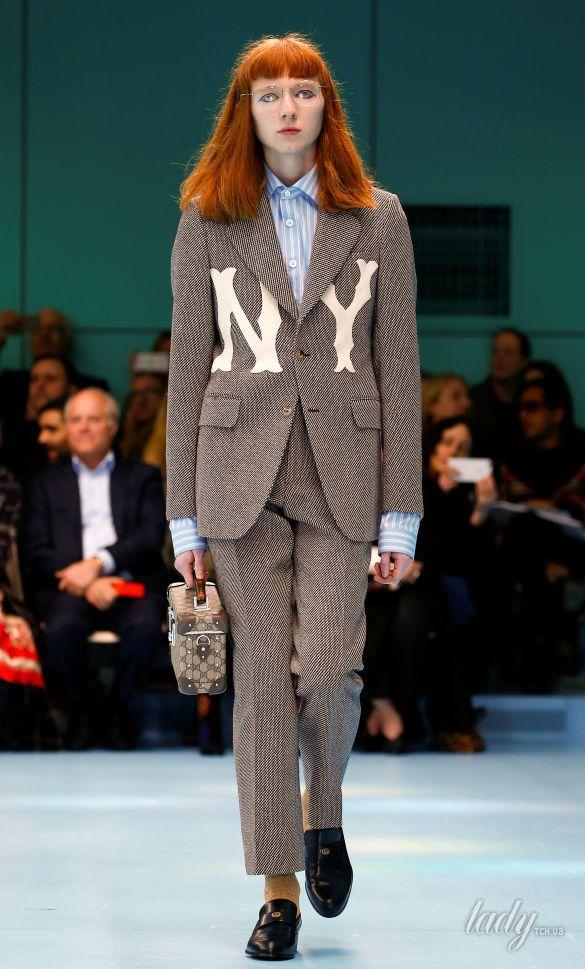 Показ коллекции бренда Gucci в Милане_13