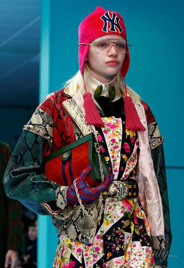 Показ коллекции бренда Gucci в Милане_17