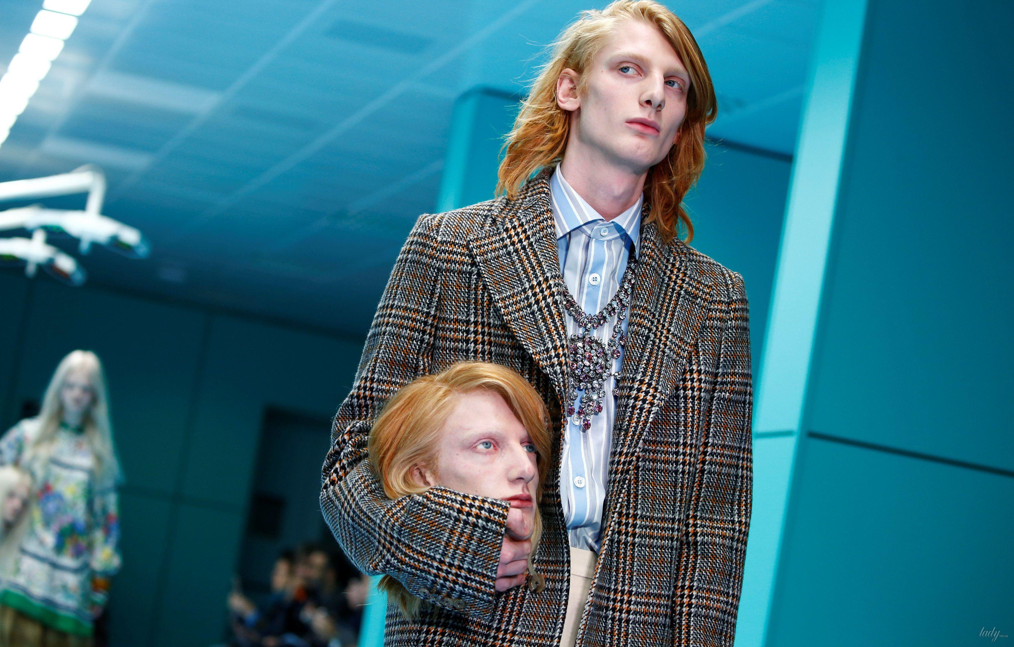 Показ коллекции бренда Gucci в Милане_22