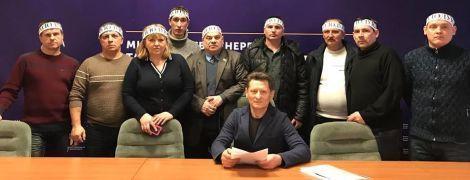 Горняки четырех шахт объявили бессрочную голодовку в помещении Минэнерго