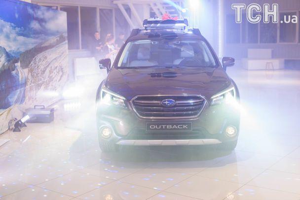 Украинская премьера Subaru Outback 2018: с уклоном на безопасность
