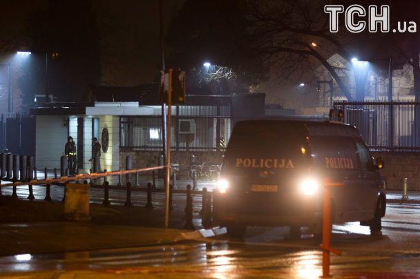 Біля посольства США уЧорногорії вибухнули дві гранати