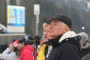 Бринзака переобрали президентом Федерації біатлону на 4 роки